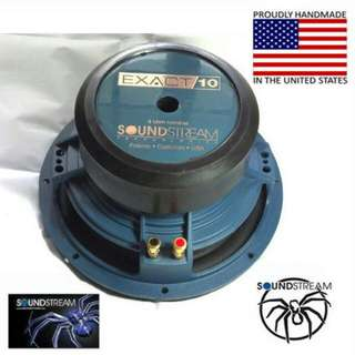 Soundstream Car Subwoofer - 10 inch (Handcrafted in USA)