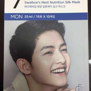 Song Joong 7 Days Face Mask cheapest