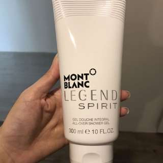 Mont Blanc Legend Body Wash