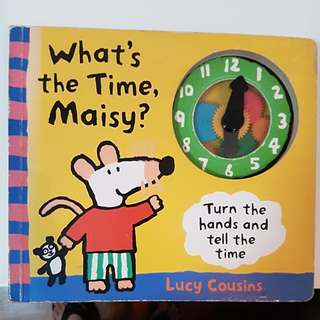 MAISY - Hardcover Telling Time book