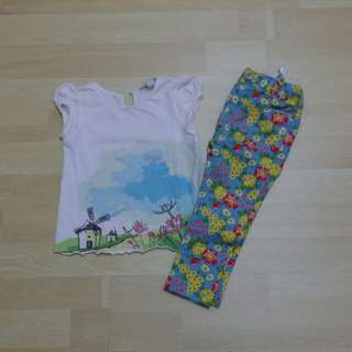 Poney set (shirt+jeging)