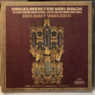 The Early German Organ School Helmut Walcha Archiv 2723055 4-LP box set