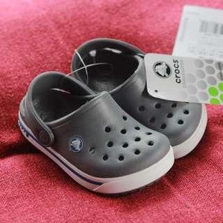 Authentic Brand New Crocs Crocband II.5 Clog Charcoal