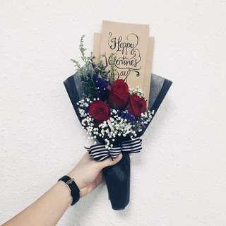 Valentine's Day Fresh Flower Bouquet