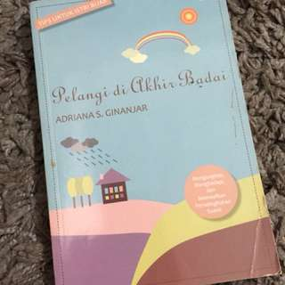 Buku 'Pelangi di Akhir Badai'