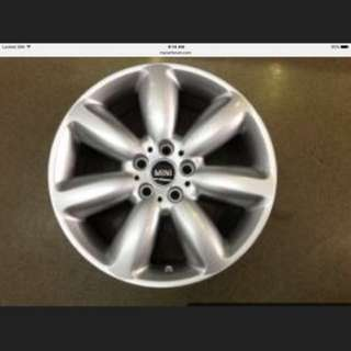 18 5x112 mini original new car takeoff rim 1 set 4pc $800