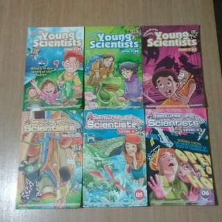 12 Issues of Adventure With Young Scientists Level 4