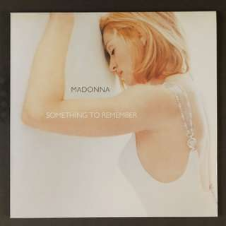 Madonna original something to remember lp record