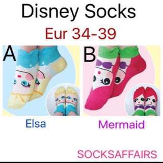 ($1 sales) Disney socks