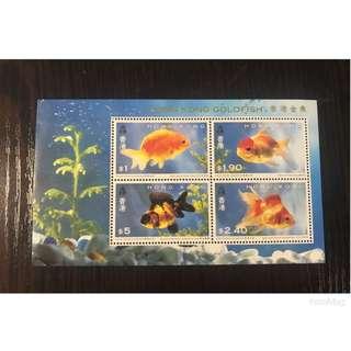 🎉(包平郵) 香港金魚郵票 - by post only 📮