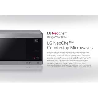 LG NeoChef Microwave Oven 0.9 Cu. Ft. and 2.0 Cu. Ft. Family Sized and Small Size Available Open Box
