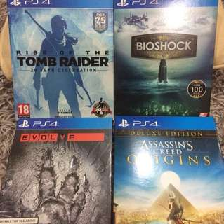 Selling 11 PS4 Games!