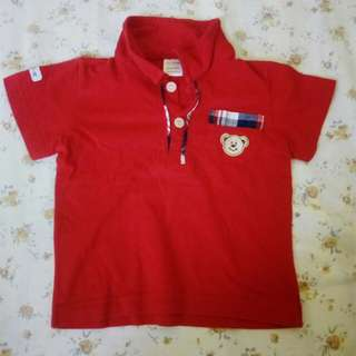 Red Polo Shirt (reprice)