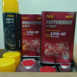MOTORBIKE ENGINE OIL MANNOL