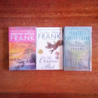 2 books (The Land of Mango Sunsets, The Christmas Pearl, Plantation)