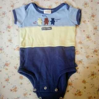 Carters Blue Romper
