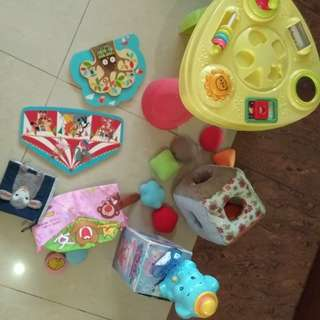 Baby toys set of 7