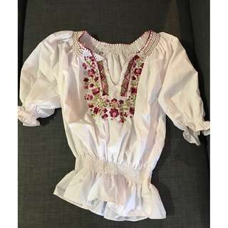 Brand New Without Tags Traditional Hungarian Shirt
