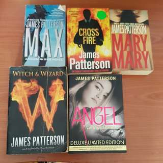 James Patterson - max, cross fire, mary mary, angel, witch & wizard