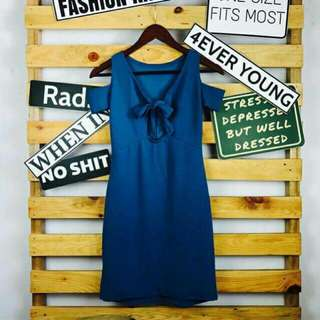 Tiefront dress bodycon