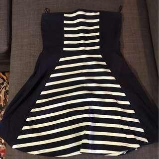 Navy And Mint Express Dress