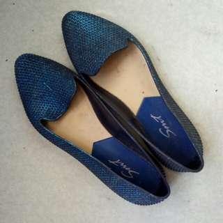 SMT blue doll shoes