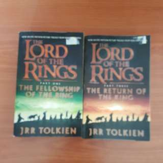 The Lord of the Rings jrr tolkien