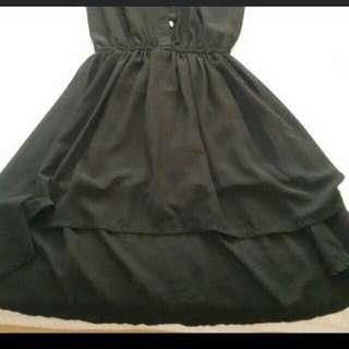 Long back dress (ctto)