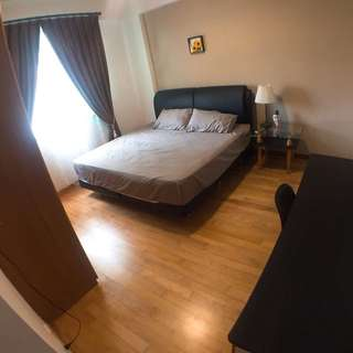 Changi Condo master bedroom for rent