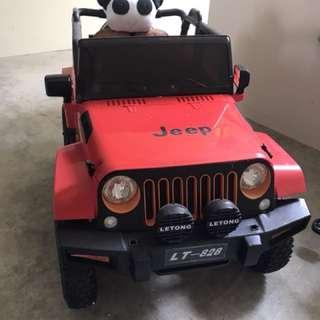 Jeep remote control car