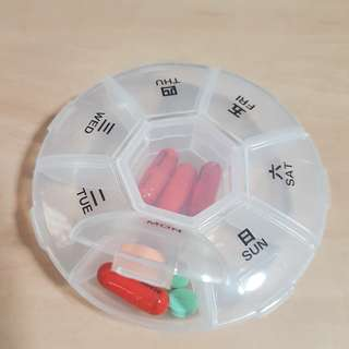 Pill Box (Chinese/English)