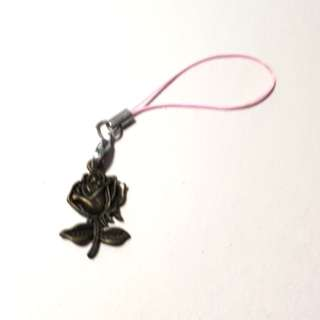 Bronze Rose Key Chain