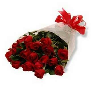 Valentine's Bouquet Fresh V-day Gifts Flower 15B9F     68