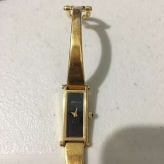 Repriced Authentic Gucci 1500L bangle watch