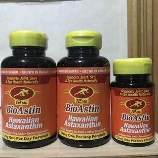 *特價* 買2支*送1支25粒裝(送完即止)💥抗氧化💥抗衰老💥眼睛健康  🌈4個月份量🌈 (高含量12mg)蝦青素120粒 Astaxanthin.
