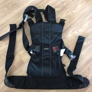 Babybjorn baby front and back carrier