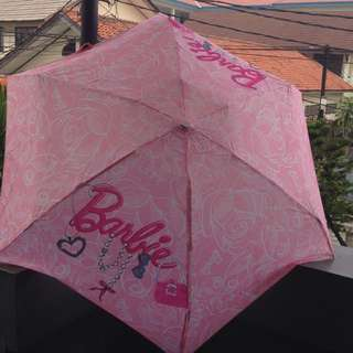 Payung Barbie Pink
