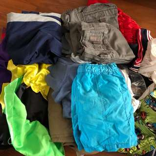 Boy and girl clothes lot