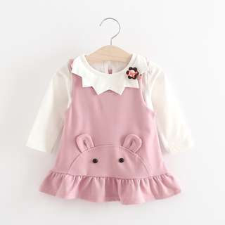 High Quality Tutu Korean Style Baby Girl Two-piece Sets (2 Pcs)