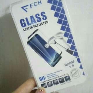 5.0 inches UNIVERSAL TEMPERED GLASS