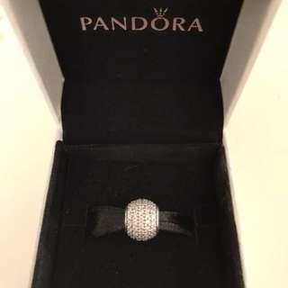 Pandora clear pave charm