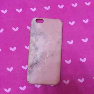 Iphone 6/6s Pastel Pink Marble Hard Case