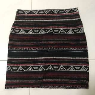 CO Tribal Bandage Skirt #HUAT50sale