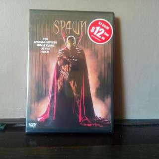 Unopen SPAWN dvd
