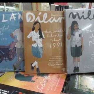 [DISC 5%] 3 Novel Dilan