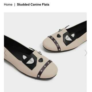 LOOKING FOR Charles and Keith Studded canine flats