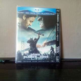 Blu Ray disc Dawn Of The Planet Of The Apes