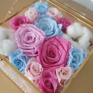 Preserved Flower Box