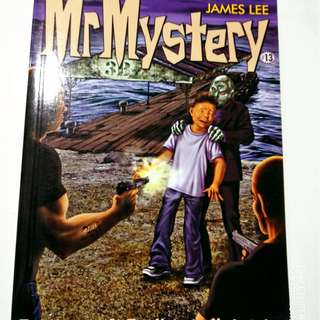 Mr Mystery 13 - The mystery of the unlucky undertaker