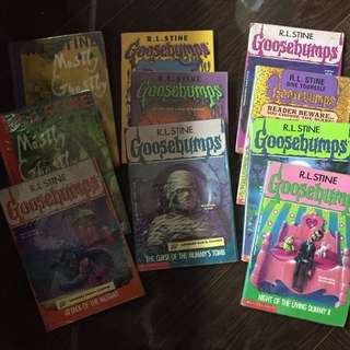 RL Stine Goosebumps and Mostly Ghostly Collection